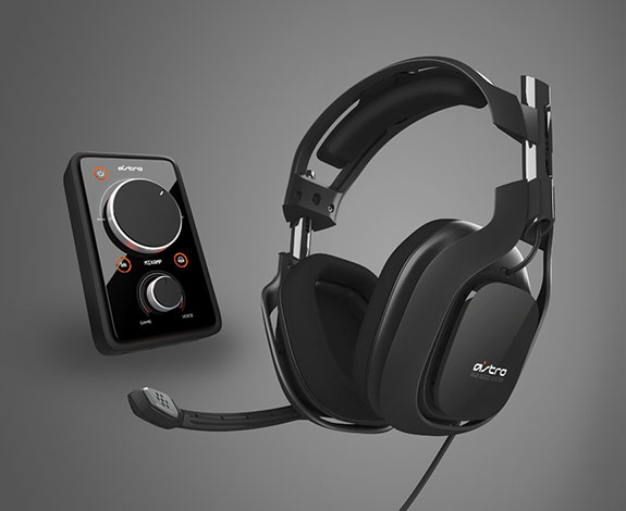 A40 Black with amp