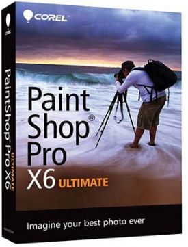 Paint Shop Pro Ultimate x6