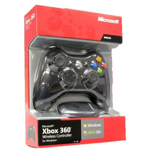 Microsoft Wireless Xbox 360 Controller (Windows and Xbox360)